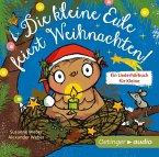Die kleine Eule feiert Weihnachten, Audio-CD (Mängelexemplar)