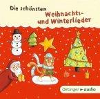 Die schönsten Weihnachts- und Winterlieder, 1 Audio-CD (Mängelexemplar)