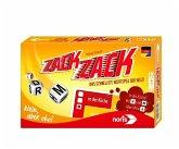 Noris 606101704 - Zack Zack, Das schnellste Wortspiel der Welt, Gesellschaftsspiel, Würfelspiel