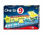 Noris 606101697 - One To 9, Gesellschaftsspiel, Brettspiel, kartenlegespiel