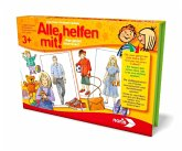 Noris 606011690 - Alle Helfen mit, Gesellschaftsspiel, Suchspiel