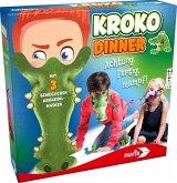 Noris 606011756 - Kroko Dinner, Gesellschaftsspiel, Geschicklichkeitsspiel