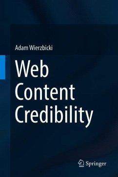 Web Content Credibility