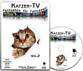 Katzen-TV - Fernsehen für Fellnasen. Tl.2, 1 DVD-Video