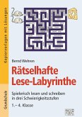 Rätselhafte Lese-Labyrinthe