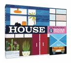 House: First Words Board Books: 5 Books Inside! (Illustrated Set of Board Books for Babies, Interactive Books and Playset, Baby's First Words)