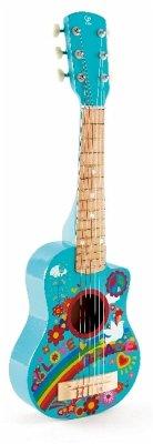 Hape E0600 - Gitarre, Gitalele, Ukulele, Flower Power, Musikinstrument