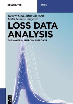 Loss Data Analysis (eBook, PDF) - Gzyl, Henryk; Mayoral, Silvia; Gomes-Gonçalves, Erika