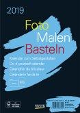 Foto-Malen-Basteln 2019 schwarz, Format A5