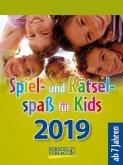 Spiel- und Rätselspaß für Kids 2019 Tages-Abreisskalender
