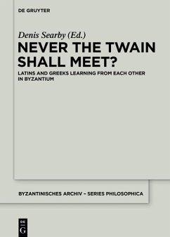 Never the Twain Shall Meet? (eBook, ePUB)