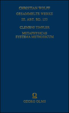 Metaphysicae systema methodicum - Timpler, Clemens
