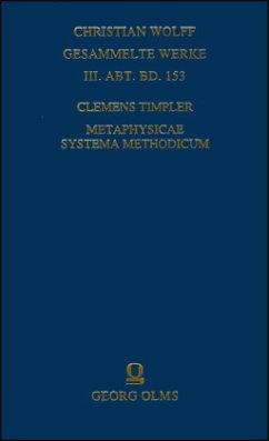 Metaphysicae systema methodicum - Timpler, Clemens