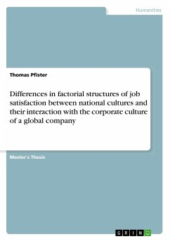 Differences in factorial structures of job sati...