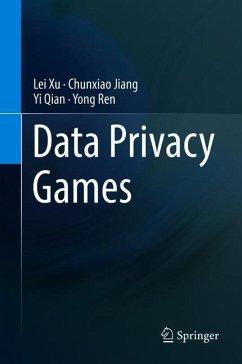 Data Privacy Games