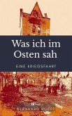 Was ich im Osten sah (eBook, ePUB)
