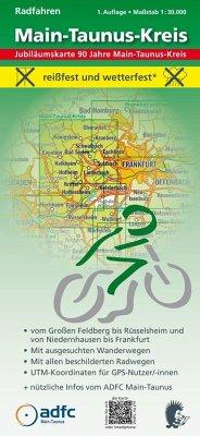 MeKi-Radwanderkarten mit ADFC-Tourenvorschlägen - Radfahren - Main-Taunus-Kreis - Messer, Michael