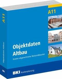 BKI Objektdaten Altbau A11 inkl. CD-ROM