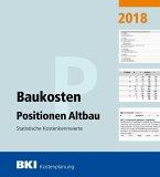 BKI Baukosten Positionen Altbau 2018