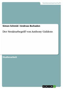 Der Strukturbegriff von Anthony Giddens (eBook, ePUB)