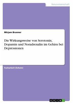 Die Wirkungsweise von Serotonin, Dopamin und Noradrenalin im Gehirn bei Depressionen