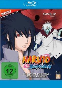 Naruto Shippuden - Das endlose Tsukuyomi - Die Beschwörung - Staffel 20.2: Folgen 642-651 - 2 Disc Bluray
