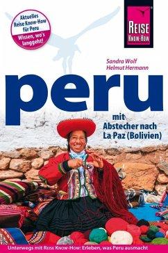 Peru Reisehandbuch - Wolf, Sandra; Hermann, Helmut