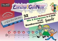 Einfacher!-Geht-Nicht, für die Mundharmonika SPEEDY®, m. 1 Audio-CD - Leuchtner, Martin; Waizmann, Bruno