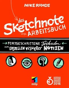 Das Sketchnote Arbeitsbuch (eBook, ePUB) - Rohde, Mike