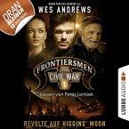 Frontiersmen, Folge 1: Revolte auf Higgins' Moon (Ungekürzt) (MP3-Download)