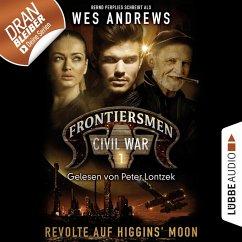 Frontiersmen, Folge 1: Revolte auf Higgins' Moon (Ungekürzt) (MP3-Download) - Perplies, Bernd; Andrews, Wes