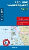 Rad- und Wanderkarte Sylt