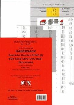 SCHÖNFELDER OHNE §§ Dürckheim-Griffregister Nr. 1910 (2019/175.EL) - Dürckheim, Constantin