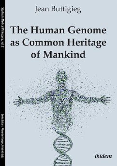 The Human Genome as Common Heritage of Mankind. - Buttigieg, Jean