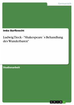 Ludwig Tieck -