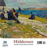 Hiddensee 2019 Postkartenkalender