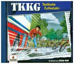 Teuflische Kaffeefahrt / TKKG Bd.205 (1 Audio-CD) - Wolf, Stefan