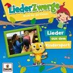 LiederZwerge - Lieder aus dem Kindersport, 1 Audio-CD