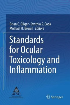 Standards for Ocular Toxicology and Inflammation