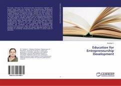 Education for Entrepreneurship Development