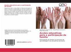 Acções educativas para a participação da família