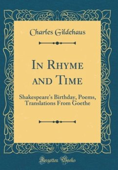 In Rhyme and Time
