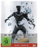 Black Panther (Blu-ray 3D + Blu-ray, Steelbook)