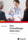 Das Einstellungsinterview (eBook, PDF)