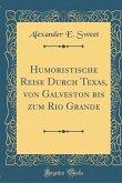 Humoristische Reise Durch Texas, von Galveston bis zum Rio Grande (Classic Reprint)