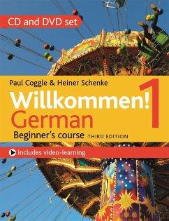 Willkommen! 1 German Beginner's course - Schenke, Heiner; Coggle, Paul