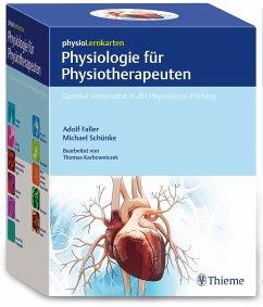 physioLernkarten - Physiologie für Physiotherapeuten - Faller, Adolf; Schünke, Michael