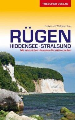 Reiseführer Rügen, Hiddensee, Stralsund - Kling, Grazyna; Kling, Wolfgang