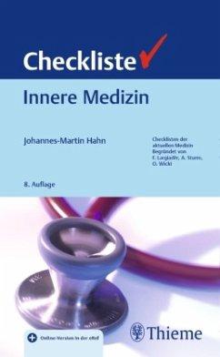 Checkliste Innere Medizin - Hahn, Johannes-Martin
