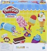 Hasbro E0042EU4 - Play-Doh Kitchen Creations, Kleiner Eissalon, Spiel-Set, Knete